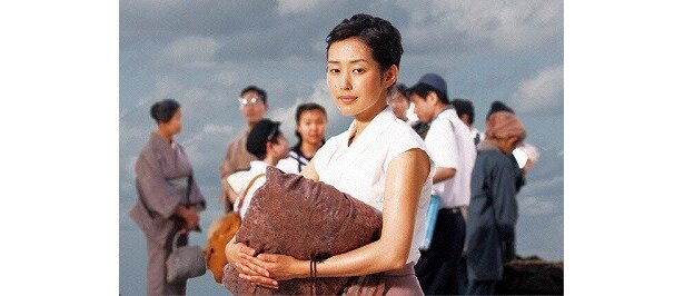 木村多江は会社の受付嬢・田沼久子役