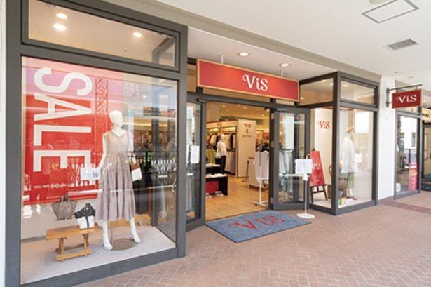 トレンドに敏感な若い女性から高い支持を得る、ViSとRopéPicnicの東海地区唯一の複合店。