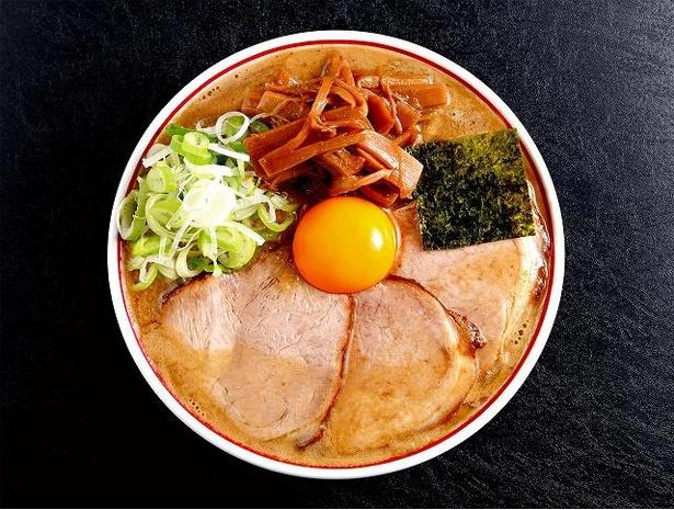 鳥と煮干しの黄金比が楽しめる「特製濃厚とろりそば」(1100円)