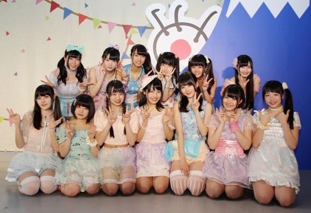 虹のコンキスタドールがフジテレビ「フジさんのヨコ」で行われた「フジテレビ・ミステリーツアー」に出演!