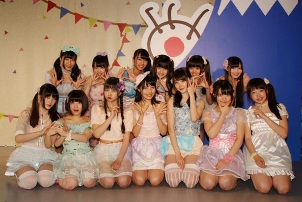 虹のコンキスタドールはFES☆TIVE、アップアップガールズ(仮)、大阪☆春夏秋冬が出演した「フジテレビ・ミステリーツアー」のトリを務めた