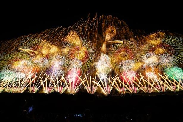 【写真】日本三大花火大会として有名な「長岡まつり大花火大会」