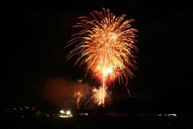 昼間はイベントを楽しんで、フィナーレは花火で