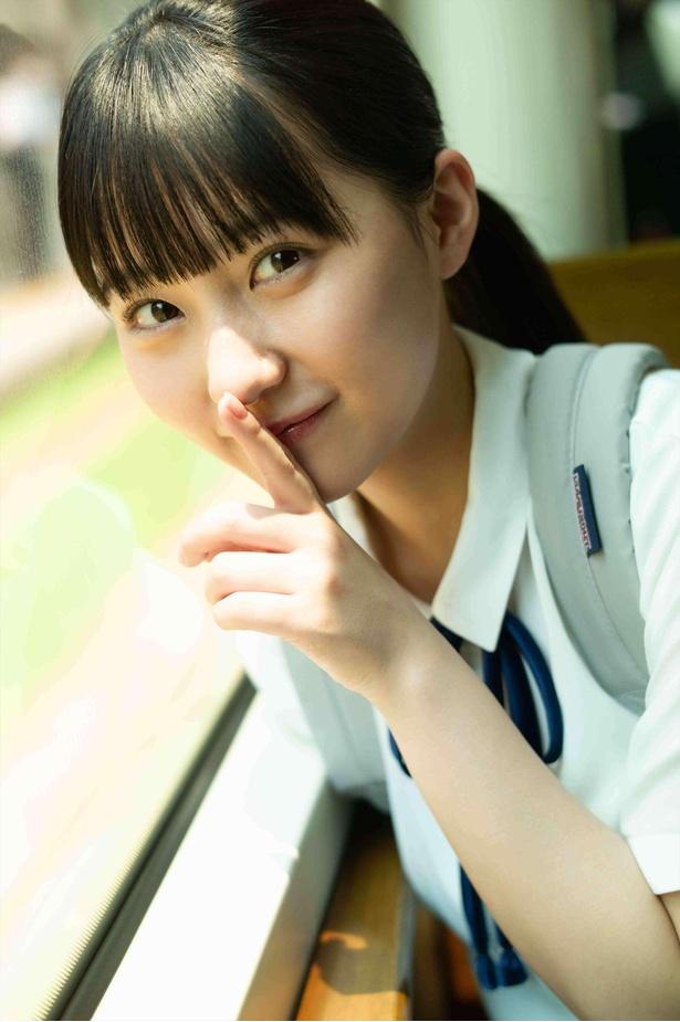 【写真】HKT48田中美久ファースト写真集先行カット