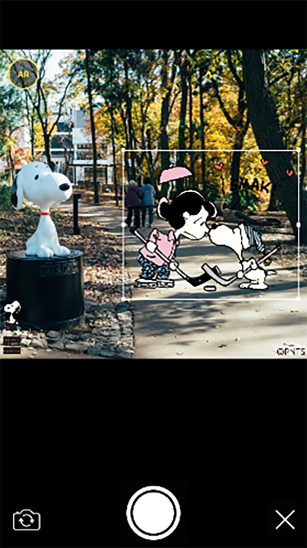 「スヌーピーを探せ!by Snoopy Museum Tokyo」