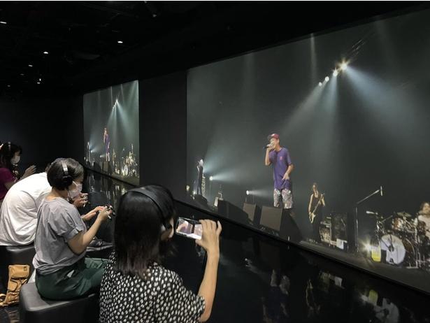 "ORANGE RANGE20周年ライブ「一日千秋""楽""」の視聴体験イベント様子"