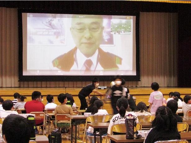「ガンプラアカデミア」のテスト展開として、鬼怒川小学校のオンライン特別授業に協力