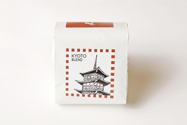「京都ブレンド」(150g1000円)など豆も販売/LIGHT UP COFFEE KYOTO