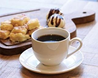 フレンチトースト(バニラアイス添え)とmurmurブレンドのセット(700円)/murmur coffee kyoto