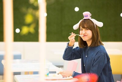 シナモロールドリームカフェをC CHANNELクリッパー(投稿者)の中島恵美さんがレポート