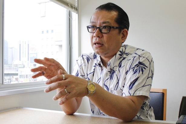 株式会社アルデナイデ代表取締役の佐々木顕さん