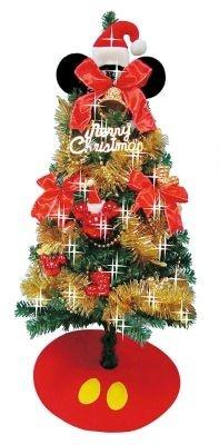 「ミッキーマウスクリスマスツリー 90cm」。こちらもセットで¥3999! 【ほか関連商品画像あり】