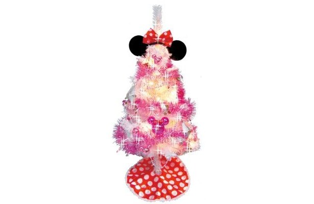「ミニーマウス クリスマスツリーセット 90cm」(¥3999)