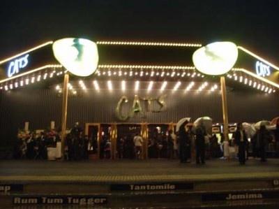 新劇場で開幕。キラリとネコの目が光る!