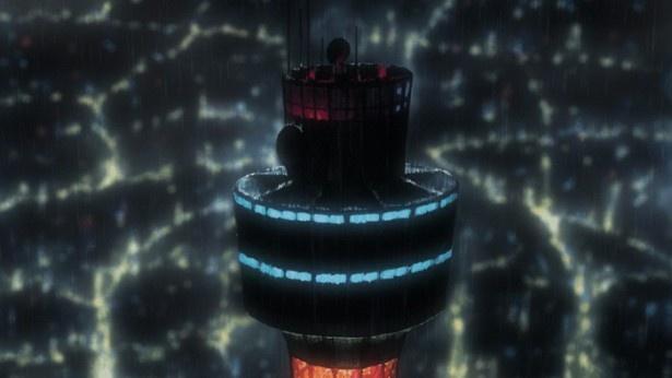 """作品中でも""""偵都ヨコハマ""""のシンボルとして登場する「横浜マリンタワー」"""