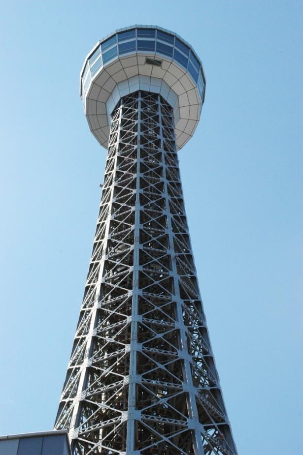 展望フロアは29Fと30Fの2層になっている(横浜マリンタワー)