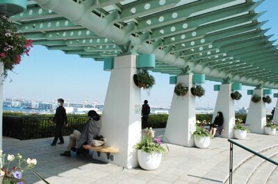 横浜港が一望できる「港が見える丘公園」