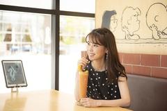 ブラッドオレンジやパパイヤ、パッションフルーツなどがIN。「冷たくて爽やかな味! 暑さも吹き飛びます~」と智子さん。すっかりトロピカル気分に