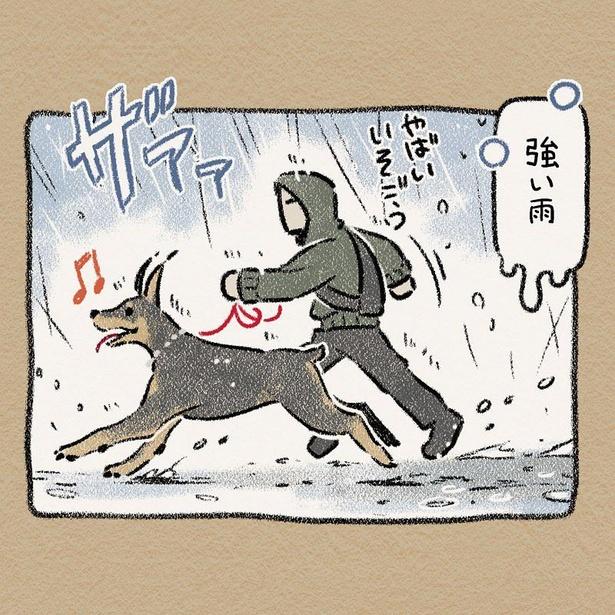 「雨とさんぽ」その3