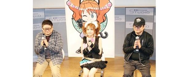 「田中れいながモデルとなったアニメができて、本当に心からうれしい」と語る田中れいな