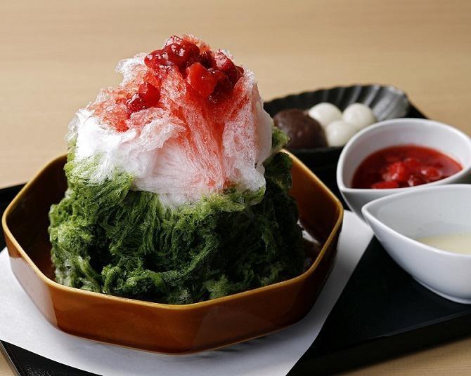 """2021年のかき氷トレンドは、""""日本茶""""と""""フルーツ""""!「渋谷スクランブルスクエア」で食べられるおすすめかき氷4選"""