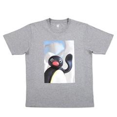 「Tシャツ(ピングーあいさつ)ヘザーグレー」(2200円)