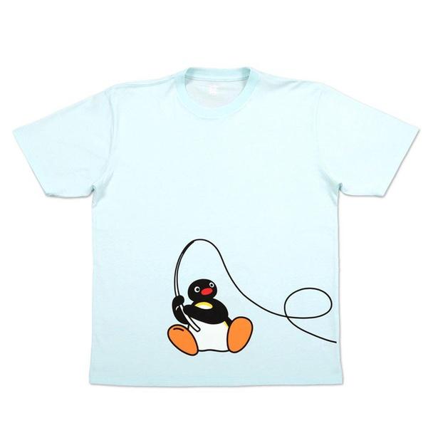 「Tシャツ(なにが釣れたかな)ライトスカイブルー」(2200円)