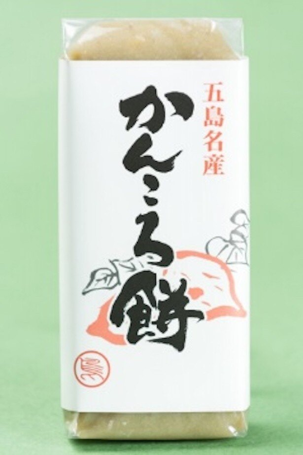 かんころ餅465円(1本300g)/販売元:真島餅店