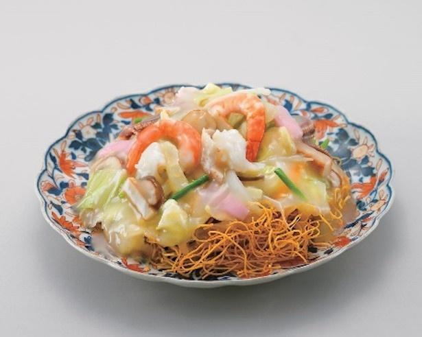 長崎皿うどん 長崎皿うどん・揚麺(スープ付4人前)  1,360円 /販売元:長崎みろくや