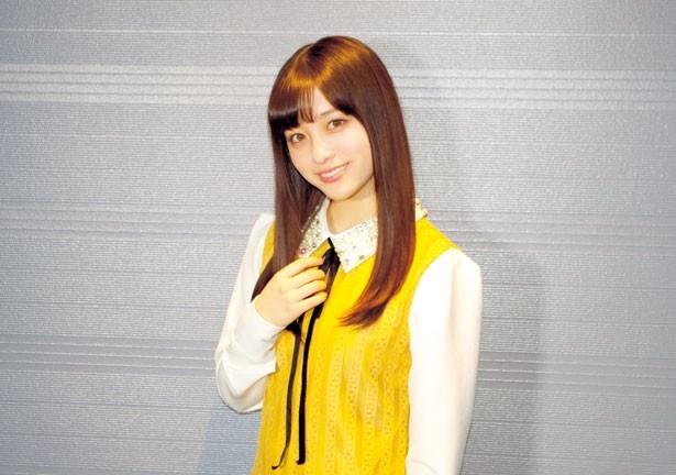 映画「ハルチカ」でヒロインの穂村千夏を演じた橋本環奈にインタビュー