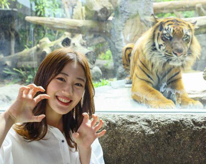 NMB48・南羽諒が動物とイチャイチャ!弾ける笑顔に癒やされる「はあさのハッピーあにまる図鑑」特別編