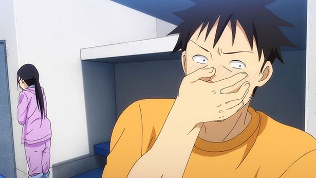 「亜人ちゃんは語りたい」第12話の先行カットが到着。亜人ちゃん一行、水着でプール!