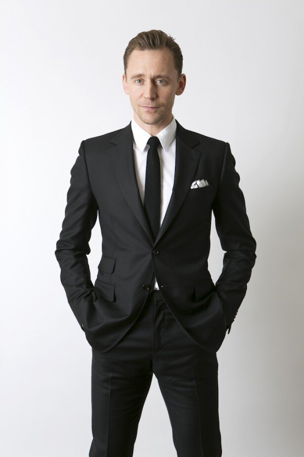スーツがお似合い!トム・ヒドルストン
