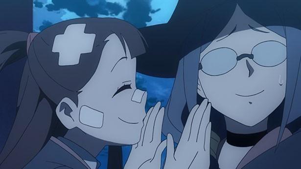 「リトルウィッチアカデミア」第12話先行カットが到着。月光の魔女を目指すアッコとダイアナの努力