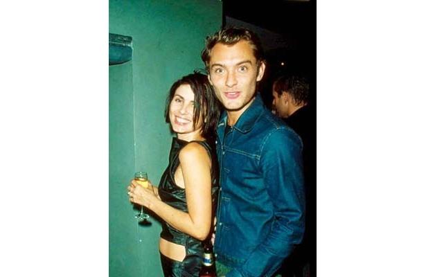 若い時のジュードと元妻セイディ