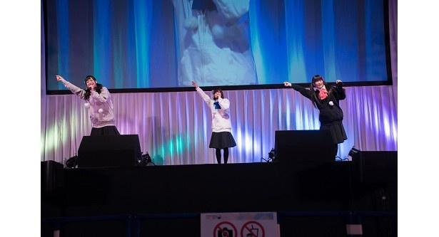 サプライズのライブステージに熱狂!「ごちうさ」ポポロンラジオ出張版ステージ【AnimeJapan 2017】