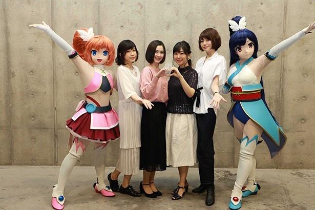 第1話先行上映でキャストも大興奮!「ツインエンジェルBREAK」ステージ【AnimeJapan 2017】