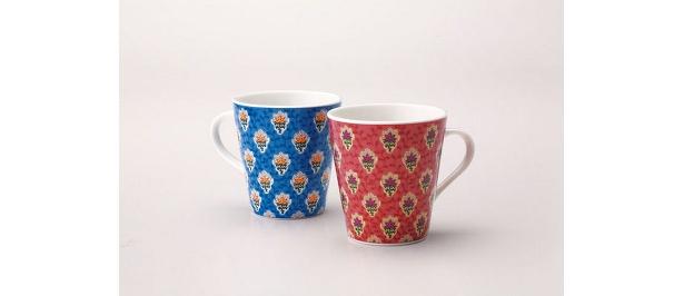 ソレイアードのマグカップ(各1575円)