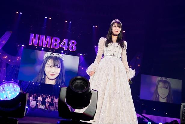大阪城ホールで卒業コンサートを開催した白間美瑠