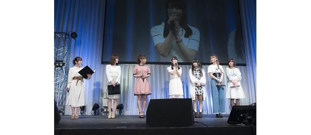 大西沙織たちの息が合ったポージングはファミリア愛の賜物!? 「ソード・オラトリア」放送直前ステージ【AnimeJapan 2017】