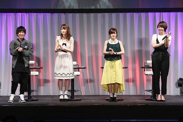 広江礼威☓あおきえいの春アニメ「Re:CREATORS」ステージでキャスト陣が魅了を語る!【AnimeJapan 2017】