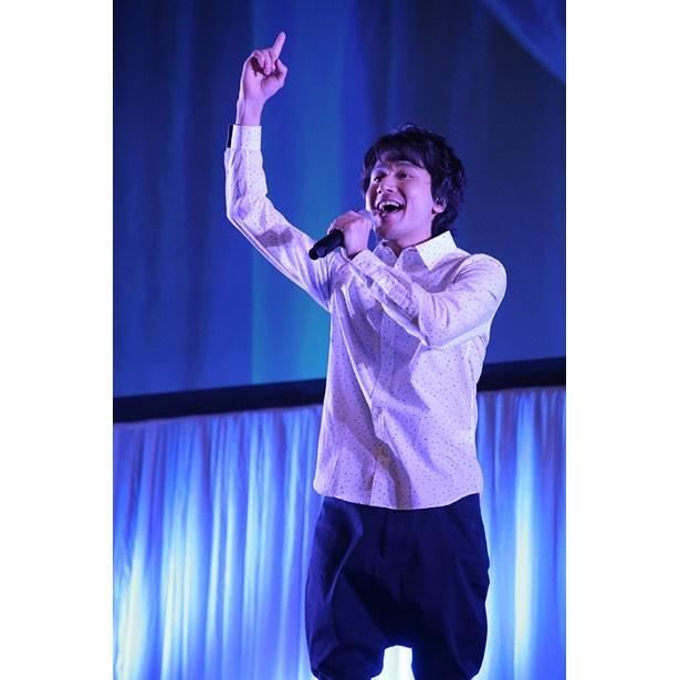 新キャストの小野大輔と内田雄馬がシークレットゲストで登場した「弱虫ペダル」ステージ【AnimeJapan 2017】