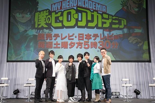 第2期への期待が高まる「僕のヒーローアカデミア」スペシャルステージ【AnimeJapan 2017】