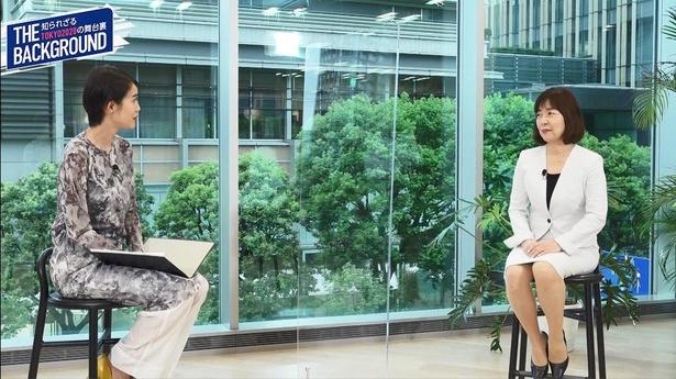 東京2020オリンピック・パラリンピックの舞台裏を語る、住宅設備総合メーカー「LIXIL」の佐竹葉子氏(写真右)