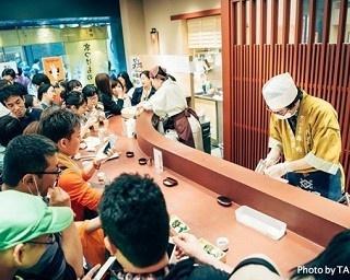 日本酒が味わえる利き酒イベント「第5回 日本橋エリア日本酒利き歩き 2017」