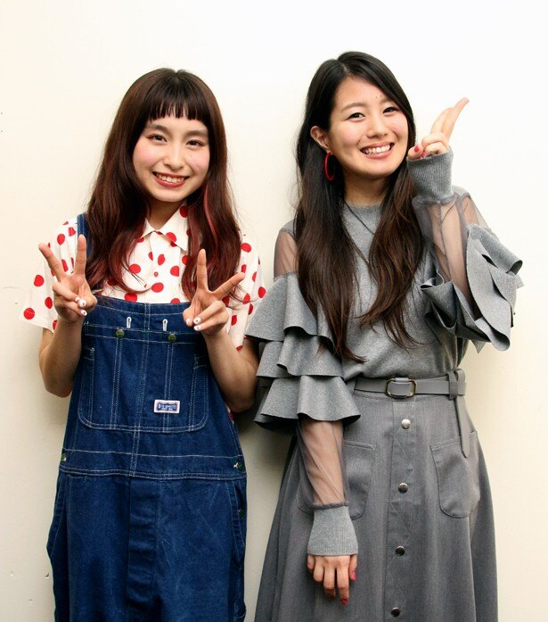 tvk「saku saku」の最後のライブイベント後に、トミタ栞とNANAEに話を聞いた