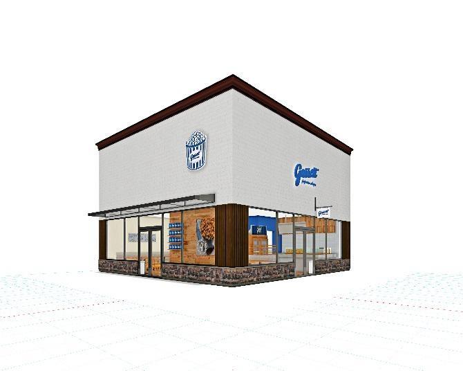 岐阜県に初上陸!ギャレット ポップコーン ショップスから新業態となるCAFE併設型店舗がオープン