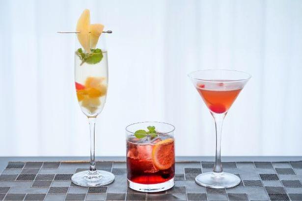 アルコールメニュー(緊急事態宣言の期間中は提供なし)。写真左から「ピングーの好奇心」「ロビの賢さ」「ピンガの愛嬌」