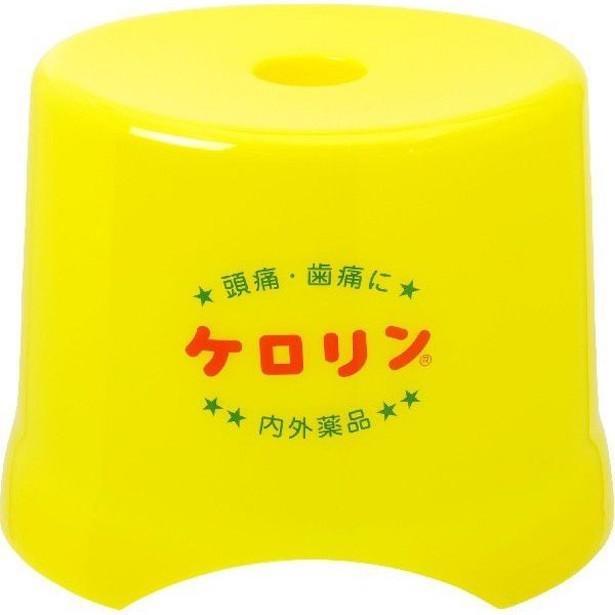 「ケロリンお風呂椅子」(2420円)。「お風呂グッズをケロリンで揃えたい方に好評です」と北村さん。筆者も自宅のお風呂で愛用中