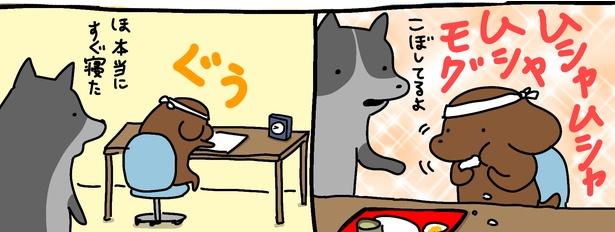 「試験勉強」3